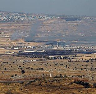 Imagens da fronteira entre Israel e Síria, nas Colinas de Golã (foto de arquivo)