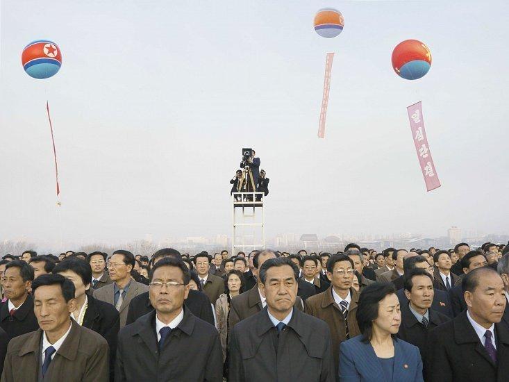 Philippe Chancel, Comemoração do 100º aniversário de Kim Il-sung, 15 de abril de 2012