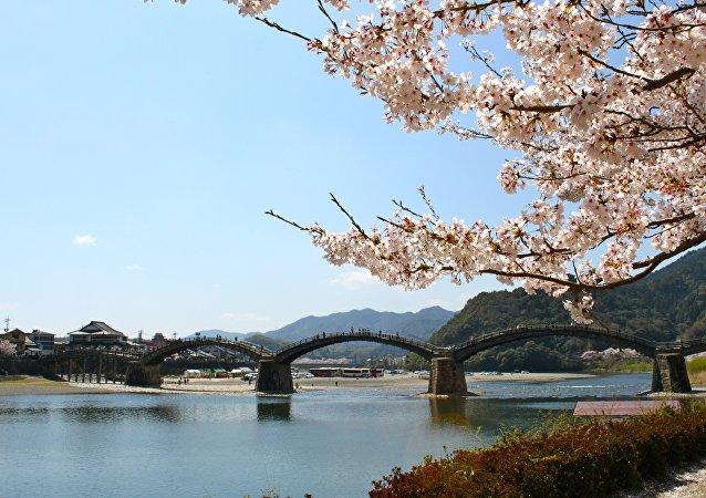 Cidade japonesa de Iwakuni