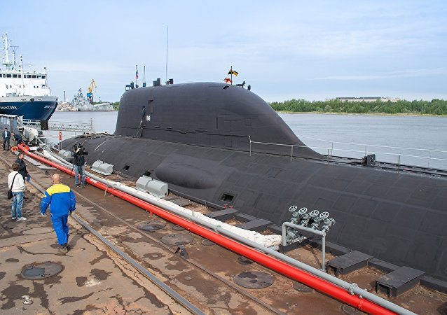 Submarino nuclear russo do projeto 885 Yasen