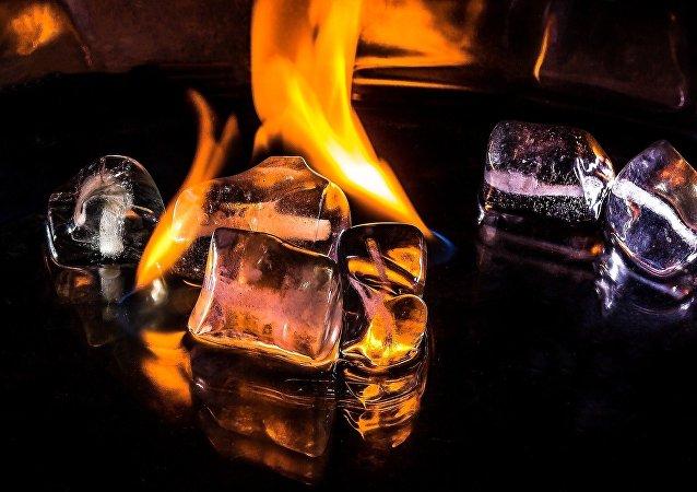 Gelo ardendo