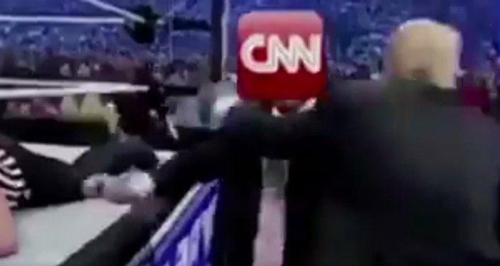Trump 'ataca' CNN