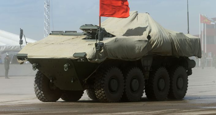 Novo blindado russo Bumerang