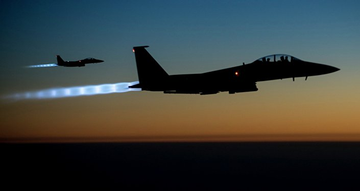 Caças norte-americanos F-15