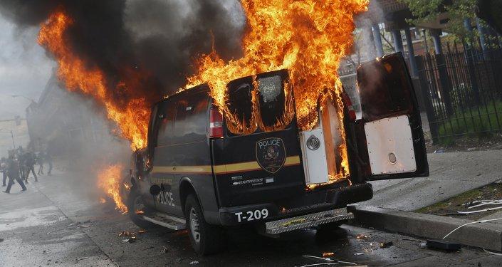Protestos em Baltimore