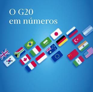 O G20 em números
