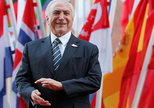 Temer no G20