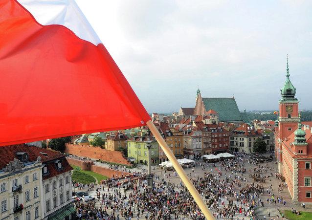Bandeira nacional polonesa