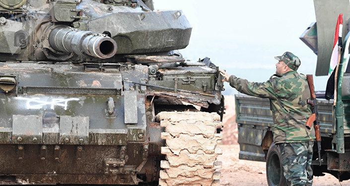 Tropas do Exército sírio (foto de arquivo)