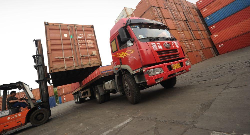 Caminhão chinês (foto de arquivo)