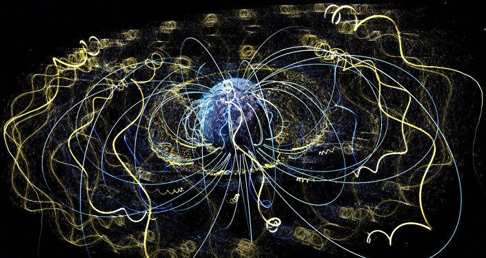 Ondas de plasma no espaço circundam a Terra