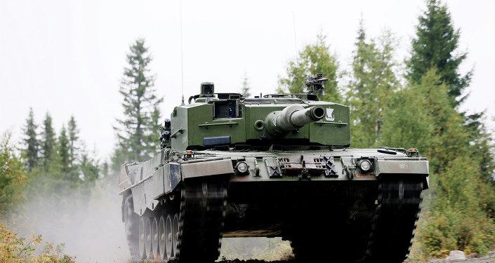 Tanque norueguês Leopard 2 A4 NO