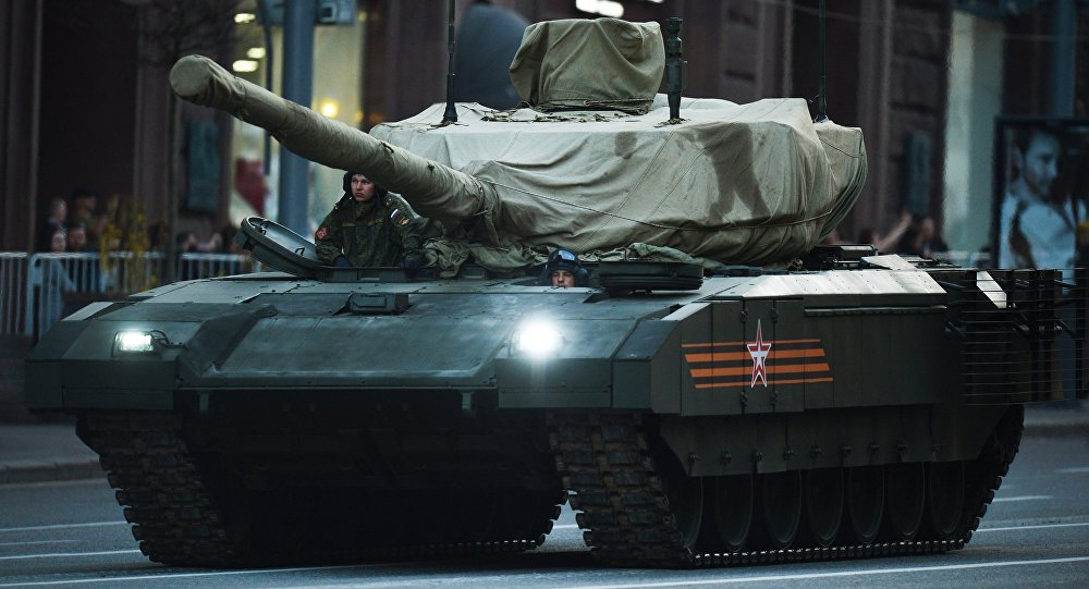 Tanque T-14 que utiliza a plataforma Armata (foto do arquivo)