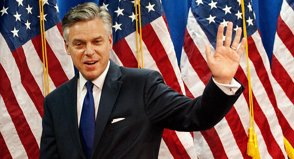 Trump pretende nomear ex-governador do Utah para embaixador na Federação Russa