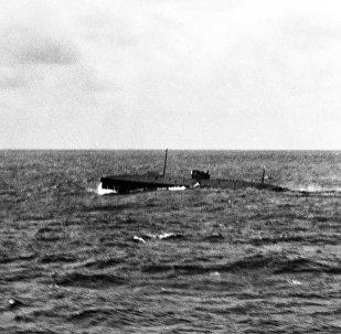 O submarino Nautilus, ou USS O-12, foi construído nos EUA em 1917