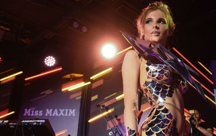 Participante do concurso Miss Maxim 2017, Ana Fedotova de Ekatirinburgo
