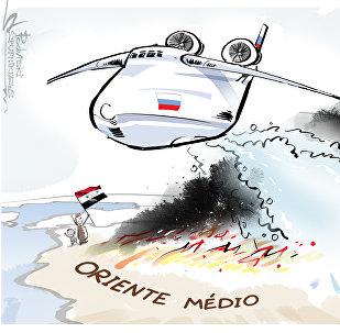 Enquanto uns põem lenha na fogueira, Rússia 'apaga fogo' no Oriente Médio