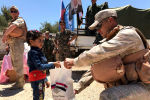 Centro russo de Reconciliação na Síria entrega ajuda humanitária ao povo sírio