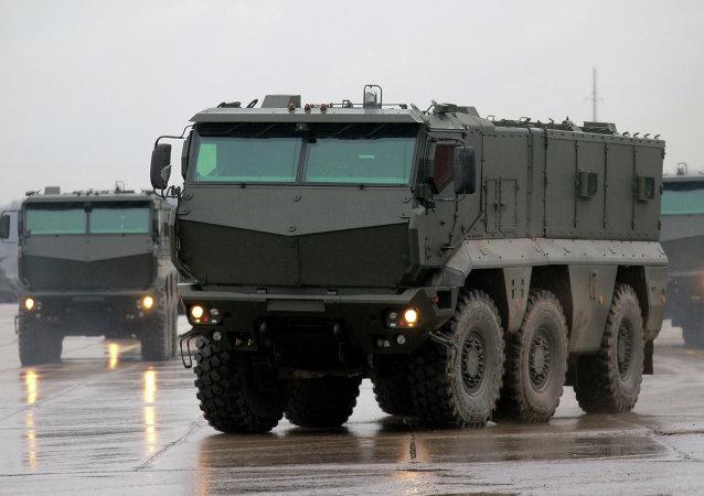 Veículo blindado russo Taifun