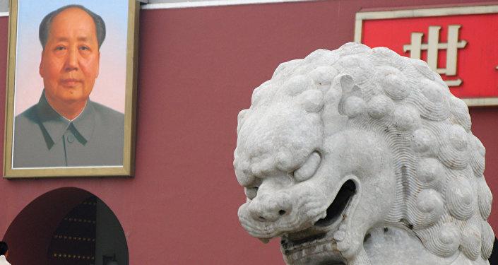 Retrato do líder revolucionário chinês Mao Tsé-Tung (foto de arquivo)