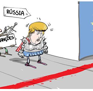 Barreira europeia contra Trump