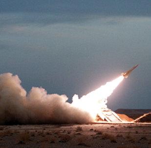 Lançamento de míssil realizado pelo Irã, foto de arquivo