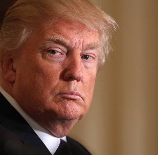 O presidente dos EUA Donald Trump