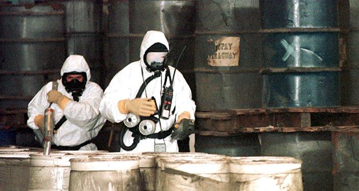 Especialistas em armas químicas e biológicas