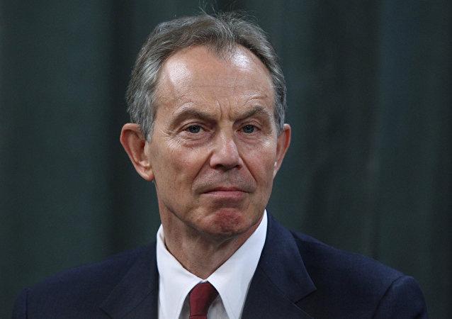 Ex-premiê britânico Tony Blair