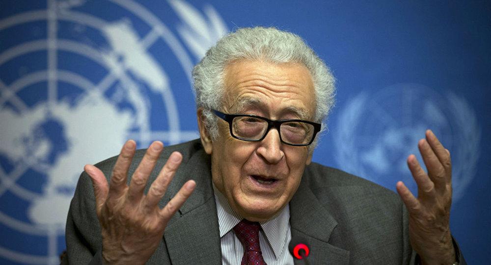 Lakhdar Brahimi, ex-Enviado Especial da ONU para a Síria.
