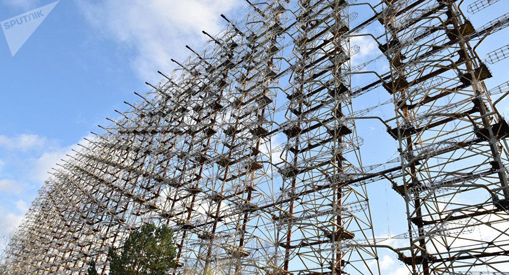 A estação de radar Duga em Chernobyl