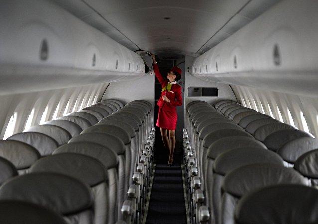 Aeromoça (foto de arquivo)
