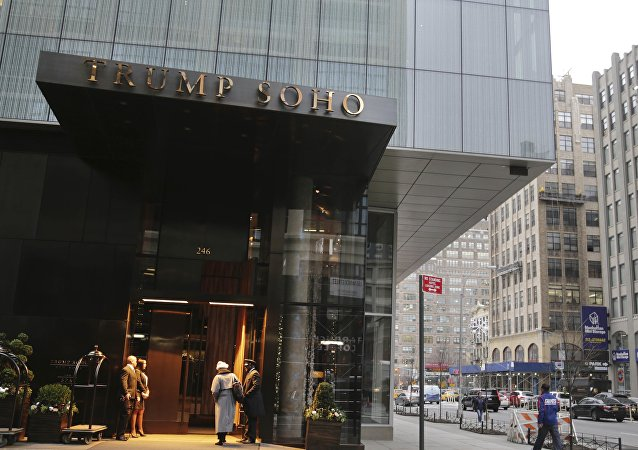 The Trump SoHo hotel em Nova York