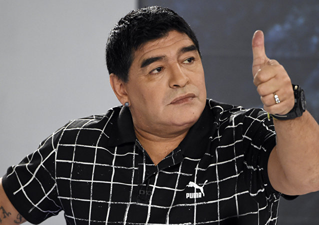 Diego Maradona, futbolista argentino