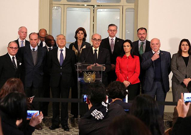 Chanceleres das Américas se reuniram na capital peruana para discutir a crise venezuelana