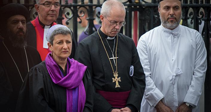 Reunião de líderes de diferentes religiões em Canterbury, Ingalterra, em apoio a vítimas do extremismo no Oriente Médio (arquivo)