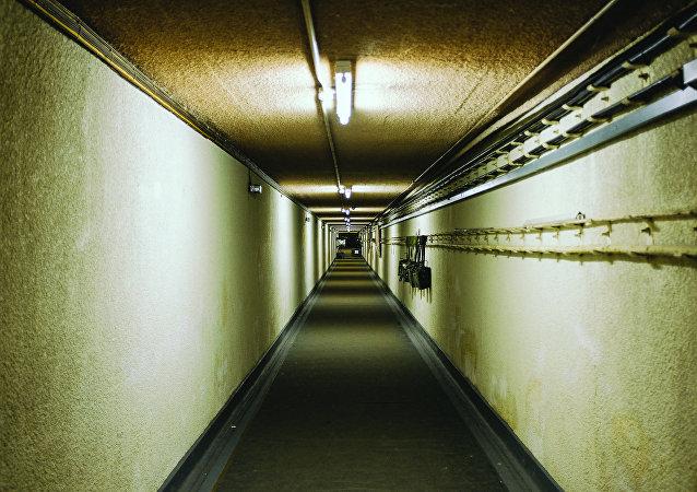 Um bunker nuclear (foto de arquivo)
