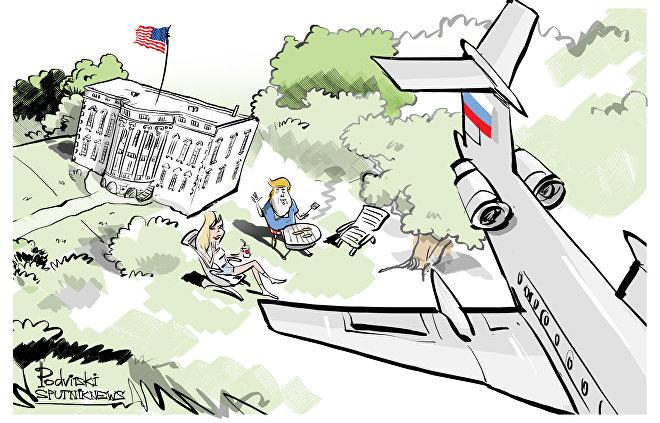 Afinal Washington encontra rastro russo... mas no céu