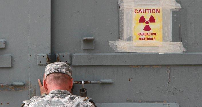 Militar americano fecha um bunker contaminado de radiação na base Bliss no Texas