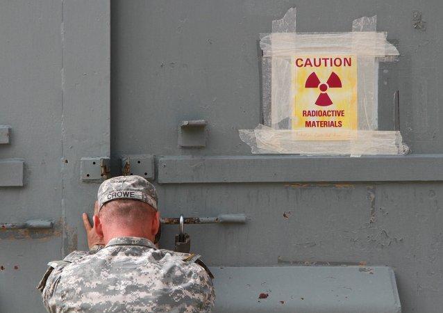 Militar americano fecha um bunker contaminado de radiação em Fort Bliss no Texas (arquivo)