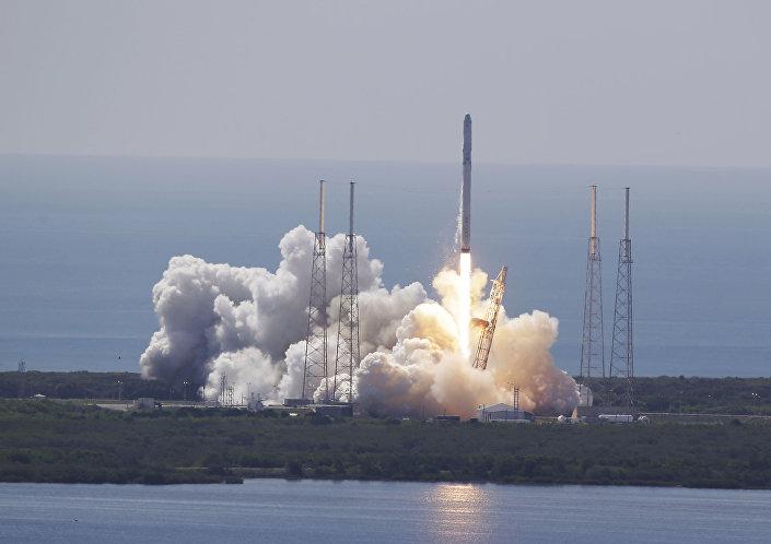 Lançamento do Falcon-9 (foto de arquivo)