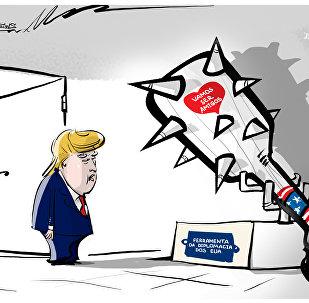 'Grande porrete' da diplomacia americana desafia o senhor Trump