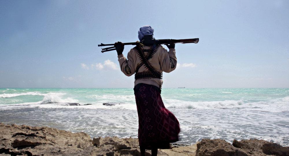 Pirata no mar da Somália