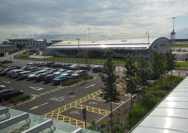 O aeroporto de Southend, em Londres