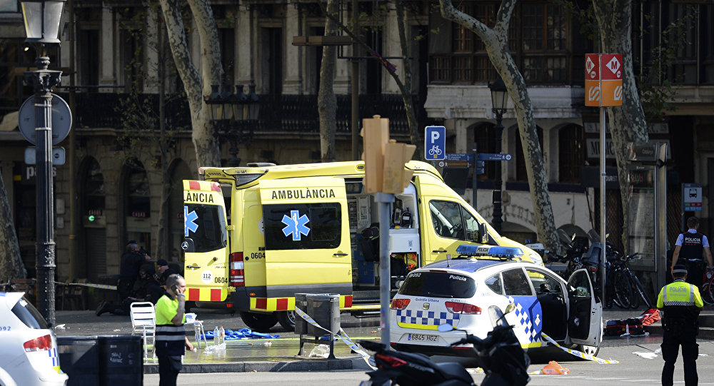 Três foragidos de ataque em Barcelona morreram, diz jornal