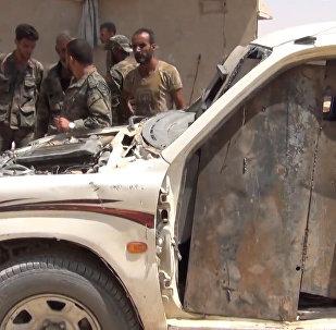 O que deixam os militantes do Daesh em Al-Sukhnah?