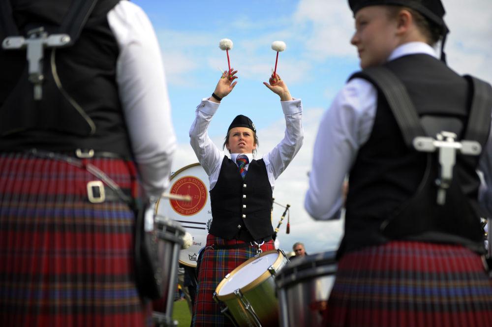 Competição World Pipe Band Championships em Glasgow, Escócia