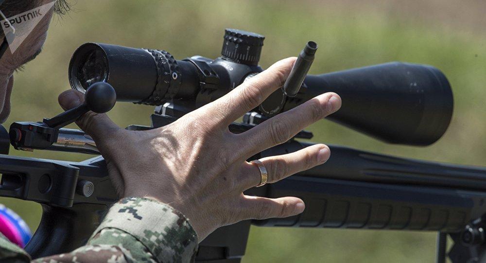 Rifle ORSIS T-5000 em ação