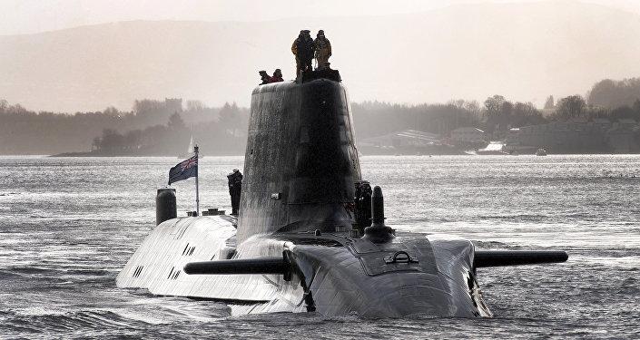 Submarino nuclear britânico (foto de arquivo)