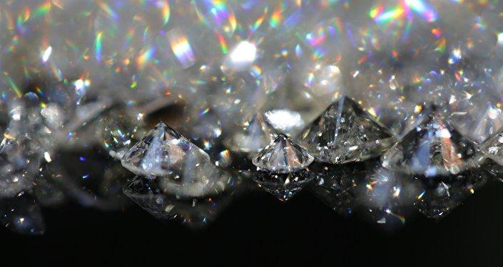 Diamantes (foto de archivo)